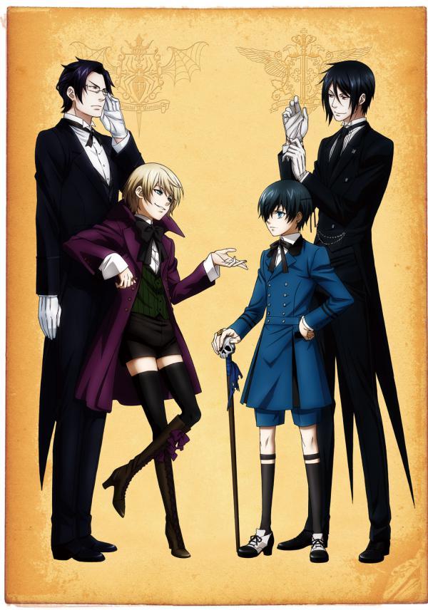 Black Butler II คนลึกไขปริศนาลับ ภาค2 ตอนที่ 1-12 พากย์ไทย [จบแล้ว]+OVA 1-6